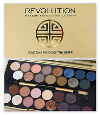 MAKEUP REVOLUTION 'Fortune Favours the Brave' Eyeshadow Palette Nude Naked NEW!