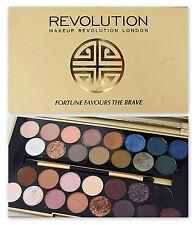 "Makeup Revolution ""Fortuna favorisce il coraggioso"" Eyeshadow Palette nude nudo NUOVO!"
