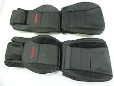 1986.5-1992 Toyota Supra MK3 / MKIII Synthetic Leather Seat Covers Black