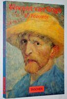 VINCENT VAN GOGH 30 cartes postales postcards Taschen 1994 peinture art book