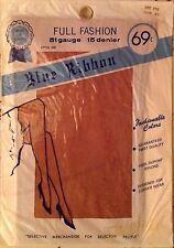 Vintage Blue Ribbon  Fully Fashioned DuPont nylon Stockings Red Fox 51 Gauge