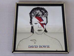 David Bowie Aladdin Sane Picture Mirror 13 x 13 Vintage Mirror Ziggy Stardust