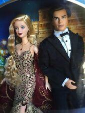 2002 Mattel ~ James Bond 007 Barbie and Ken Doll Set ~ NIB