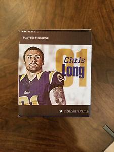 New Chris Long Figurine St Louis Rams SGA #91 Philadelphia Eagles Los Angeles LA
