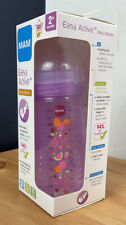 MAM Easy Active Baby Bottle 270ml/9.5oz - 2 Months+ (Lilac) *NEW*