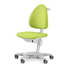 moll Kinderdrehstuhl Maximo Gestell grau Sitzbezug grün