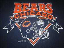 Chicago Bears 1985 Rare Logo 7 Vintage Tee Shirt Medium The Fridge Nice