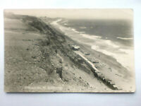 West Southbourne Cliffs Beach Huts Bournemouth Vintage Real Photgraph RP