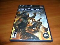 G.I. Joe: The Rise of Cobra (Sony PlayStation 2, 2009)  Complete PS2 GI