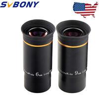 """SVBONY 1.25""""  Ultra Wide Telescope Eyepiece Set Fully Multi-Coated Lens US Ship"""