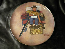 Norman Rockwell Scotty's Stowaway plate Collectible First Edition & Numbered