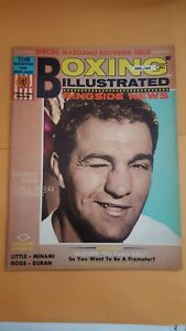 Vintage Boxing Illustrated + Ringside News Magazine. Dec. 1969. Rocky Marciano.