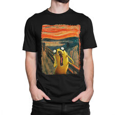 Adventure Time T-Shirt, Jake Scream Tee, Men's Women's All Sizes