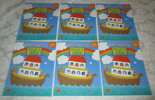 Brand New (Lot of 6) Sticker Stories Noah's Ark 75 Reusable Stickers