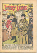 The Adventures of Jerry Lewis Comic Book #74 Dc Comics 1963 Coverless