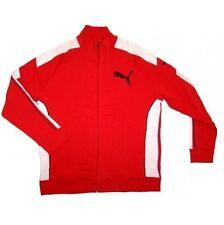 Original Puma Herren Sweater Jacke Sweatjacke Sweat Jacket F.T. NEU OVP ROT