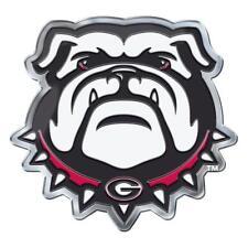 Georgia Bulldogs Die-Cut Alternate Metal Auto Emblem [NEW] Car Decal Sticker