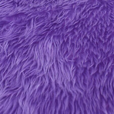 1yard Plush Faux Fur Fabric Material Soft DIY Clothing Sewing Quilt Craft