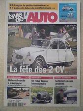 La vie de l'auto n° 1769 Tour de l'AUBE. Rallye d'autocars dans le LOIRET
