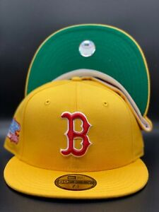 Boston Red Sox Custom New Era 1986 World Series Side Patch 59Fifty Green UV