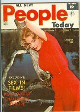 Sandra Dee cover PEOPLE TODAY mini pocket magazine 1959 lana turner donna long
