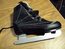 New listing Dbx Dual Double Blade Skates Boys Size 13 J Black with silver