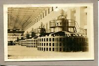 Postcard AL Florence Wilson Dam Interior View Nest of Units Real Photo 446N