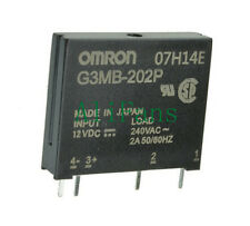 5 PCS G3MB-202P DC-AC PCB SSR In 12VDC AC 2A Out 240V Solid State Relay Module
