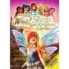 Winx Club Secret of The Lost Kingdom 0097368915442 DVD Region 1