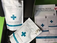 Pursoma 2 Digital Detox Bath Salts 2-pack Of 10 oz Each  NEW