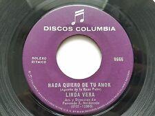 "LINDA VERA - Mundo / Nada Quiero De Tu Amor RARE 1970's LATIN BOSSA NOVA 7"""