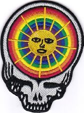 GRATEFUL DEAD - STEAL YOUR FACE- SUN/RAINBOW - IRON ON or SEW ON PATCH