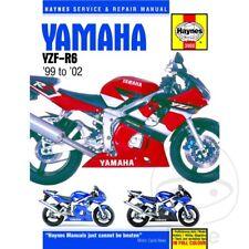 Yamaha YZF-R6 600 H 2002 Haynes Manual de reparación de servicio 3900