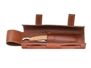 Boker Leather Roll Up Cut Throat Razor Case
