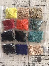 Lot Of 12 Colors - Beads Tila Glass 5x2.3mm New