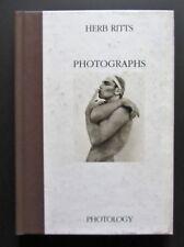 Photographs HERB RITTS fotografie PRIMA EDIZIONE 1993 rarissimo PHOTOLOGY
