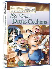 """DVD """" LES TROIS PETITS COCHONS"""" Walt Disney   NEUF SOUS BLISTER"""