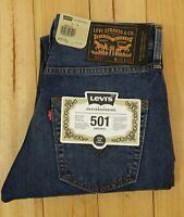 Levis 501 Skateboarding Jeans W 29 L 32 Blue