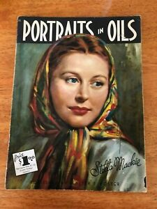 Portraits In Oils by Stella Mackie #15 Walter Foster Art Instruction Book