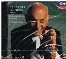 Bruckner: Symphony no 3 / Solti, Chicago SO - CD Decca