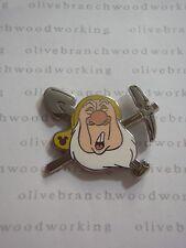 REAL* WDW 2014 Disney World SNEEZY Snow White The Seven Dwarfs Hidden Mickey Pin