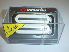 DIMARZIO DP102 X2N Humbucker Electric Guitar Pickup WHITE Fits Reg or F- Spacin