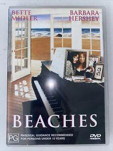 Beaches DVD Bette Midler Barbara Hershey R4 Free Postage