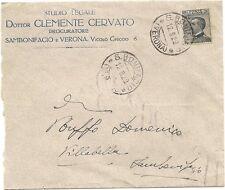 P5838   Verona, San Bonifacio, Studio Legale C. Cervato 1929