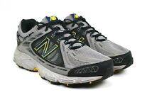 New Balance 510v2 Men's Black Blue Brown Trail Running Shoes Size 10.5 4E Wide