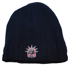 NHL RIBBED KNIT HOCKEY HAT/BEANIE/TOQUE - NEW YORK RANGERS - BLUE - OSFM