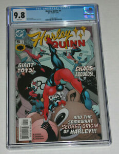 Harley Quinn #5 CGC 9.8 White Pages 2001 !st Ongoing Series