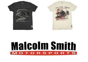 Malcolm Smith Motorsports Matchless Vintage Motorcycle T Shirt Tshirt Tee Shirt