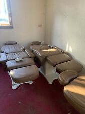 Electric Heated Salon Beauty Leather Bed Massage