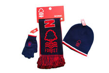 Nottingham Forest Hat, Scarf and Gloves Set Ideal Present